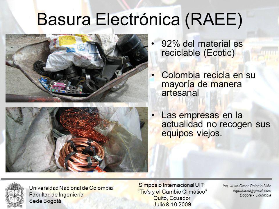 Basura Electrónica (RAEE)