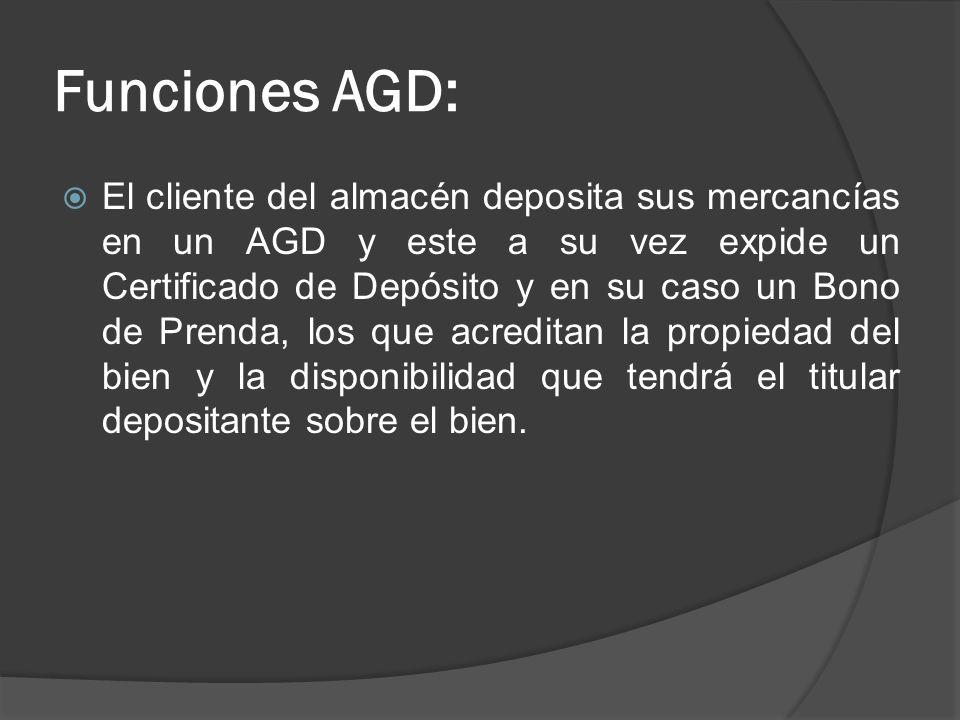 Funciones AGD: