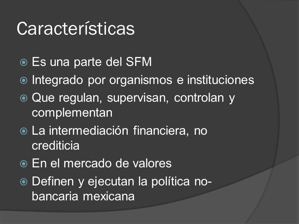 Características Es una parte del SFM
