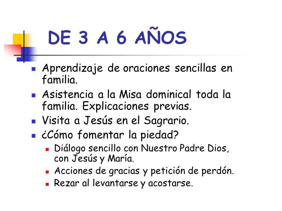 DE 3 A 6 AÑOS Aprendizaje de oraciones sencillas en familia.