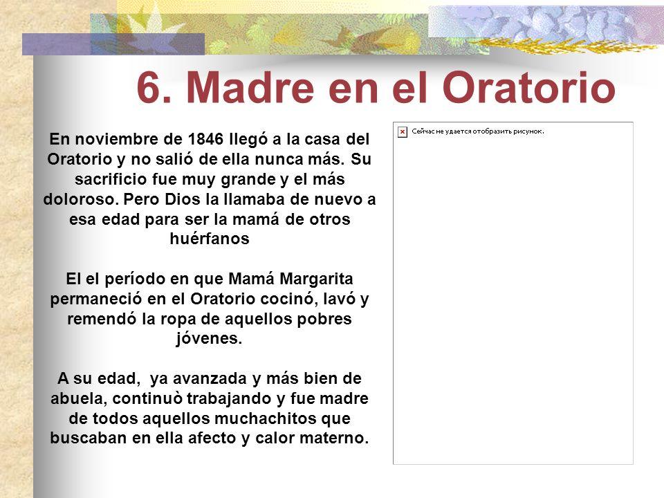 6. Madre en el Oratorio