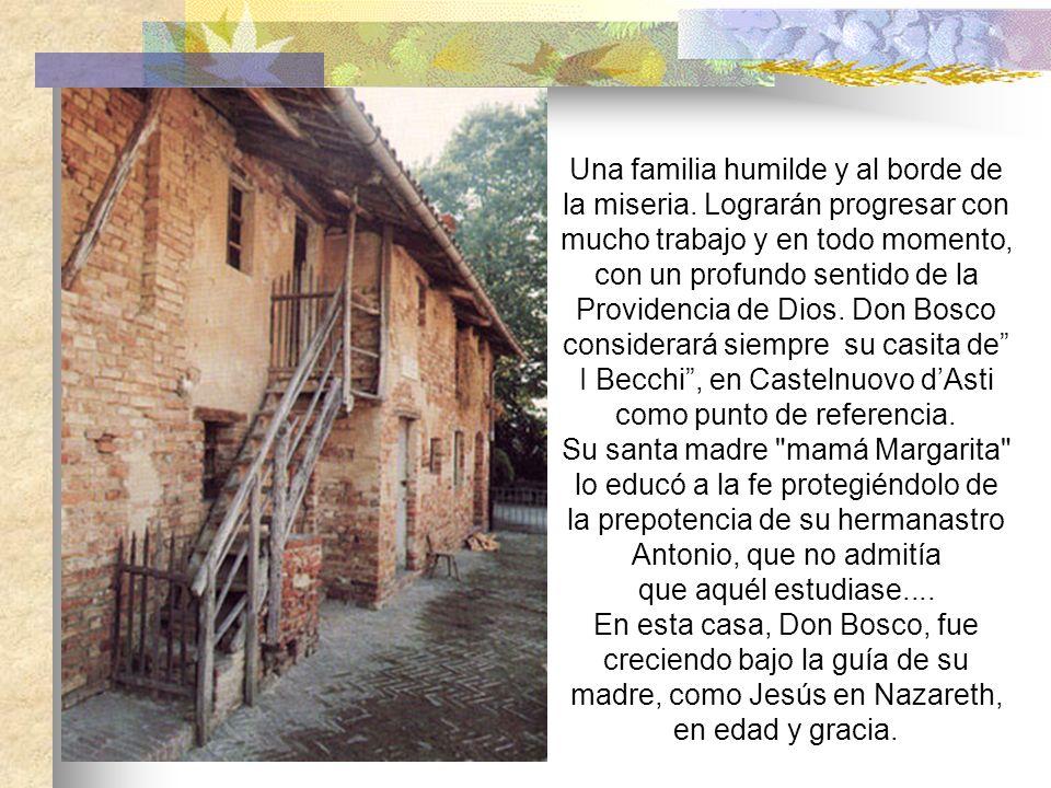 Una familia humilde y al borde de la miseria