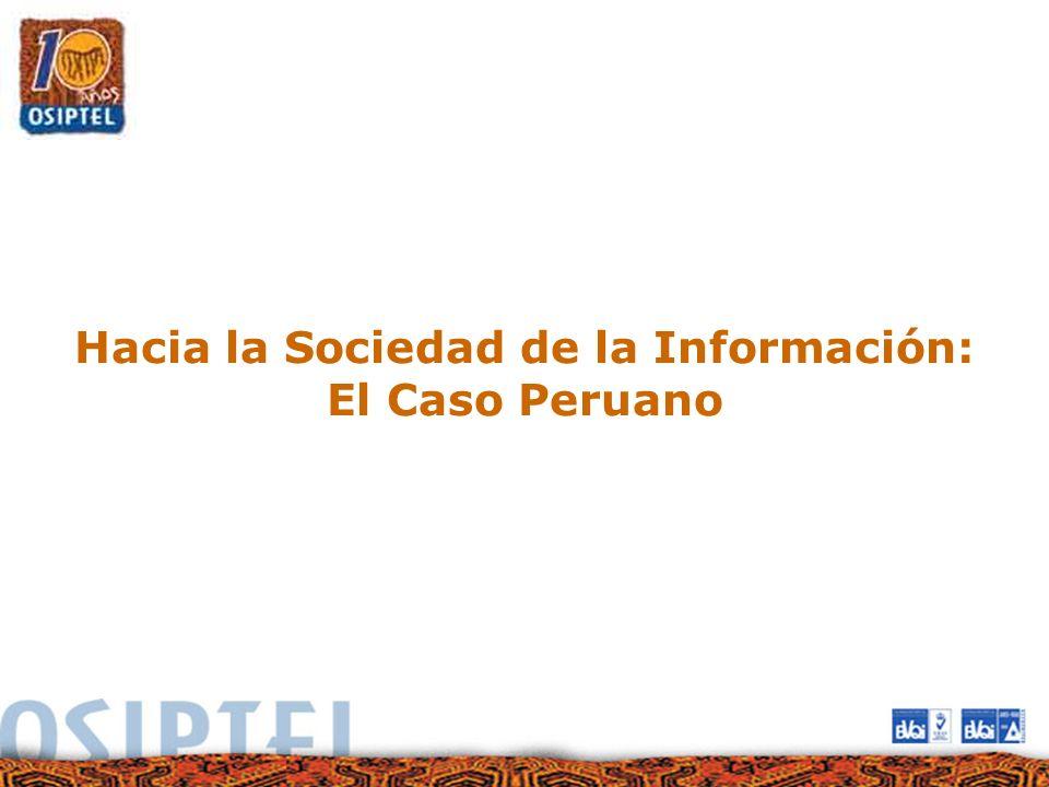 Hacia la Sociedad de la Información:
