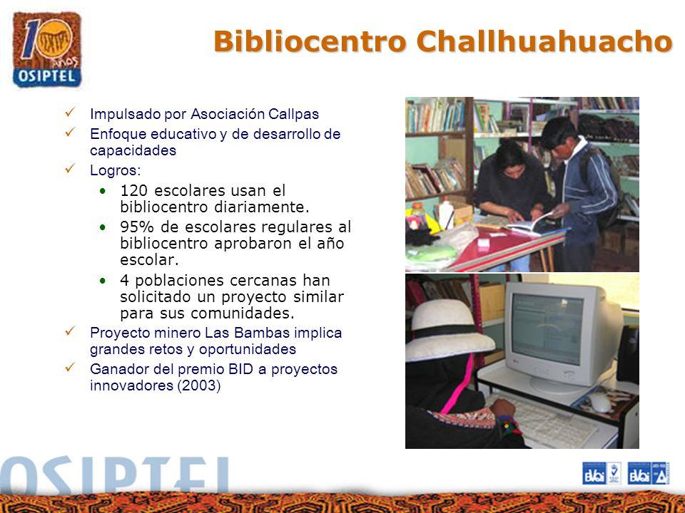 Bibliocentro Challhuahuacho