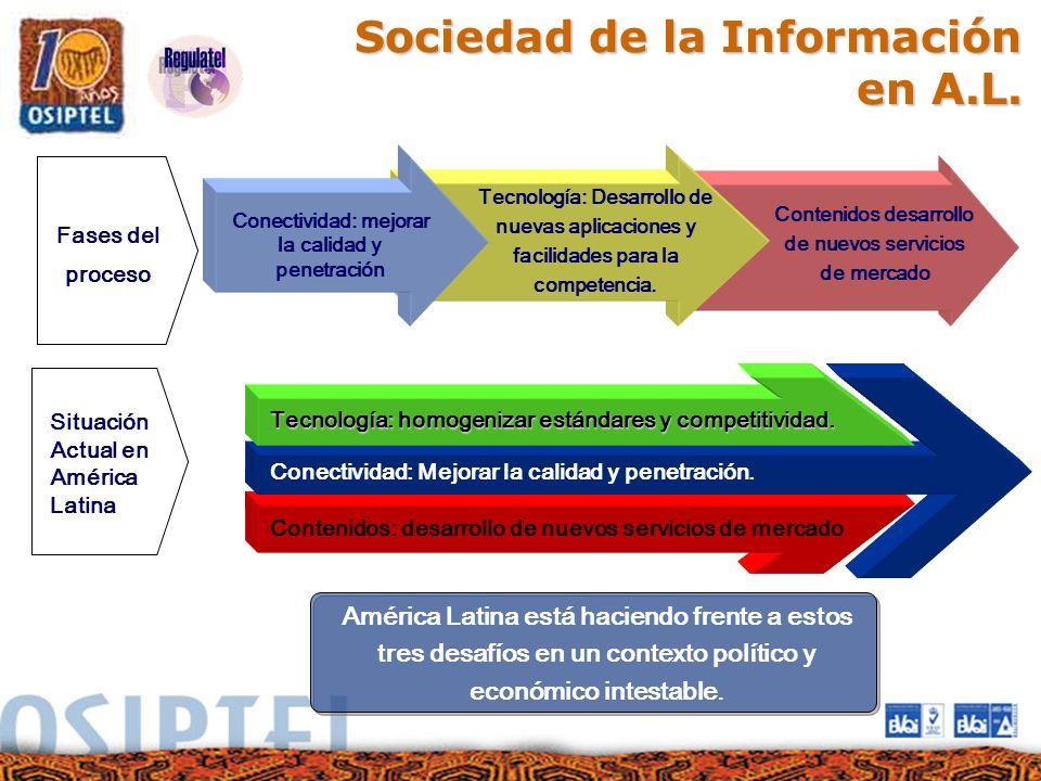 Sociedad de la Información en A.L.