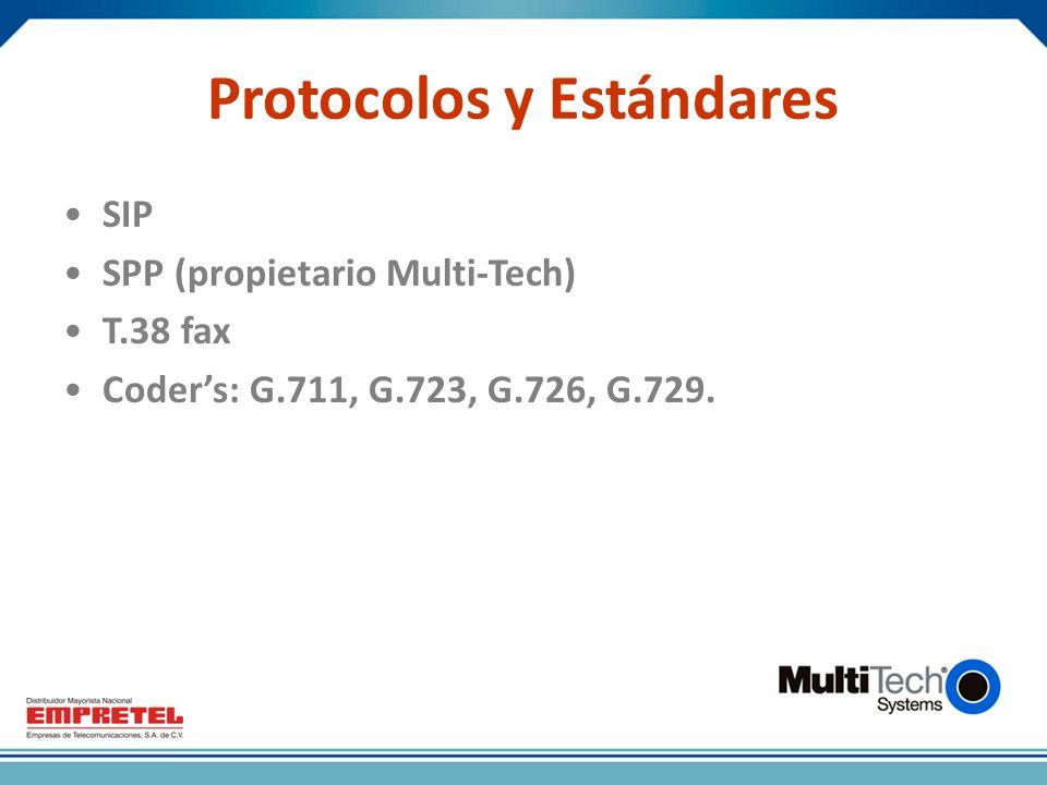 Protocolos y Estándares