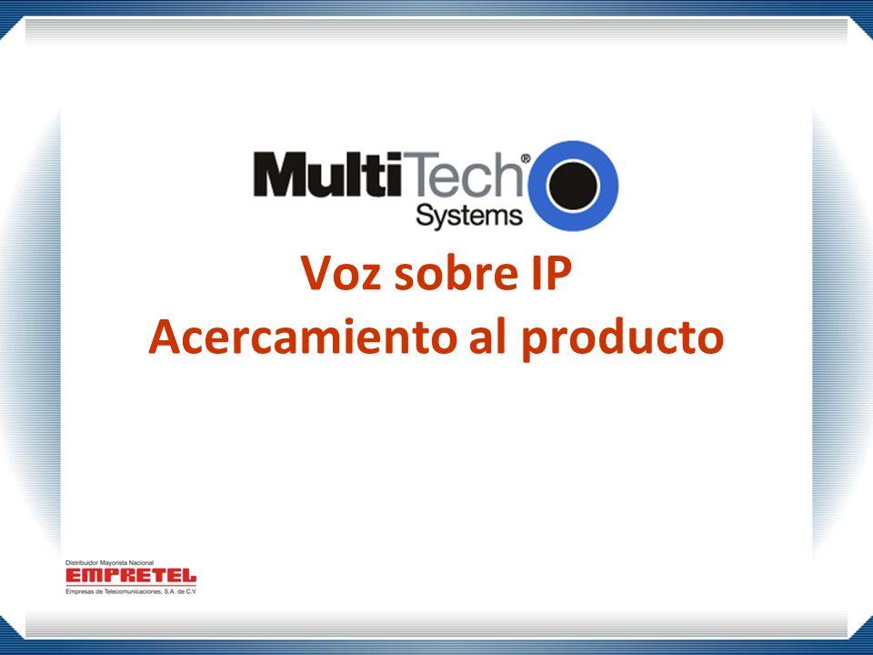 Voz sobre IP Acercamiento al producto