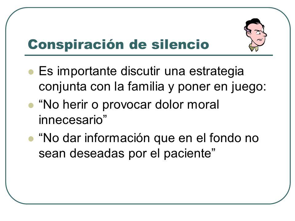 Conspiración de silencio