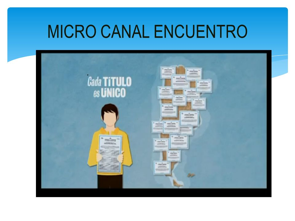 MICRO CANAL ENCUENTRO