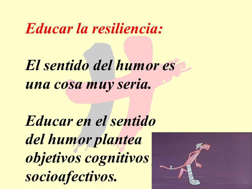 Educar la resiliencia: