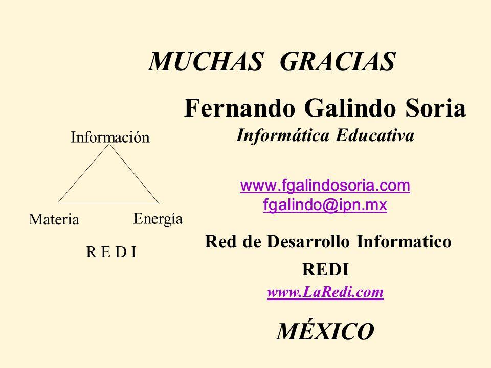 Fernando Galindo Soria Informática Educativa