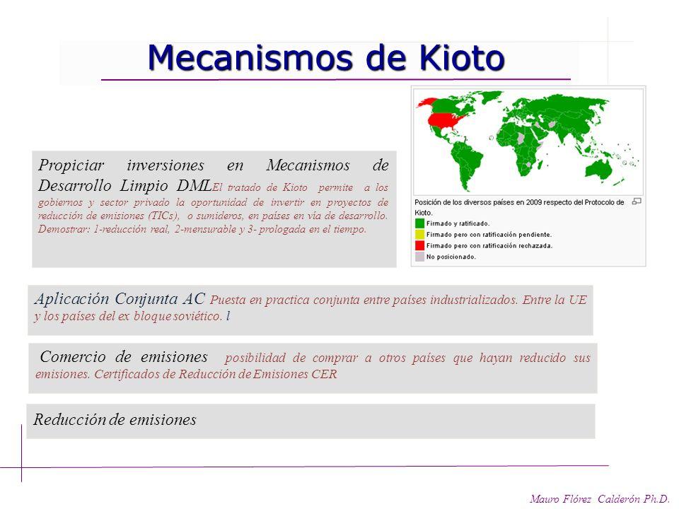 Mecanismos de Kioto