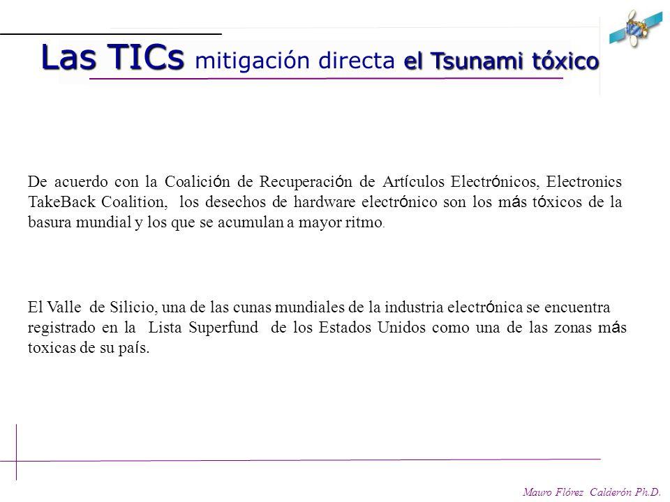 Las TICs mitigación directa el Tsunami tóxico