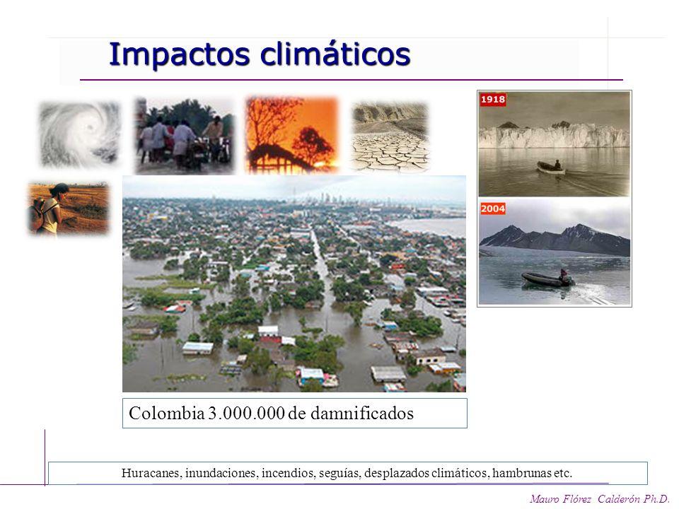 Colombia 3.000.000 de damnificados