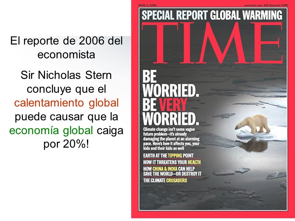 El reporte de 2006 del economista