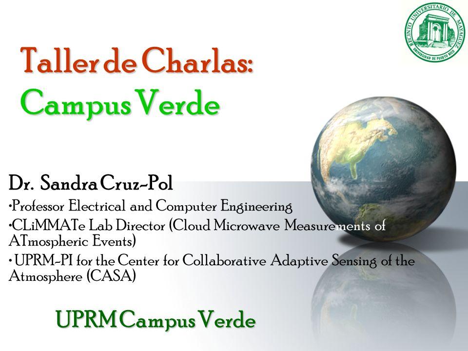 Taller de Charlas: Campus Verde