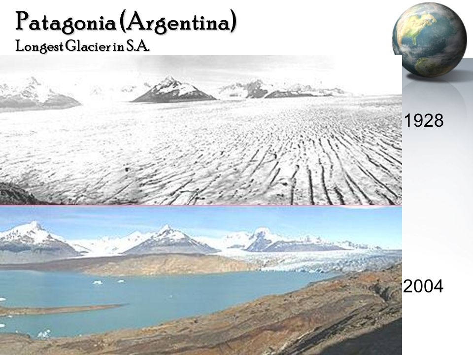 Patagonia (Argentina) Longest Glacier in S.A.