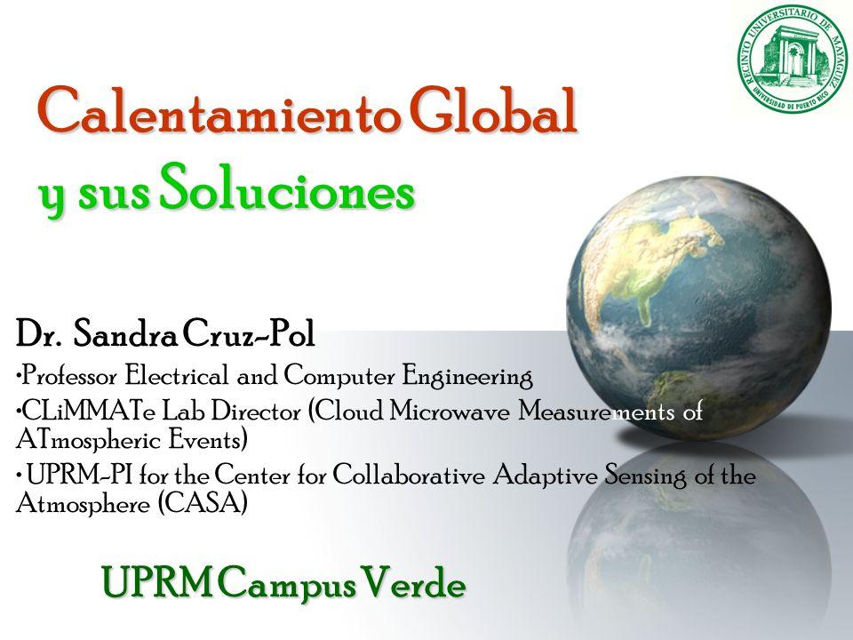 Calentamiento Global y sus Soluciones