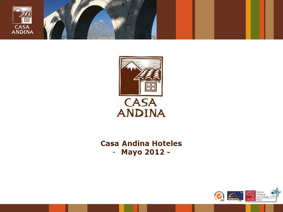 Casa Andina Hoteles Mayo 2012 -