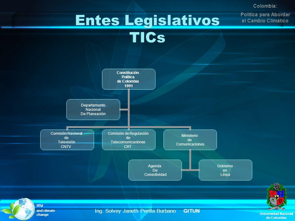 Entes Legislativos TICs