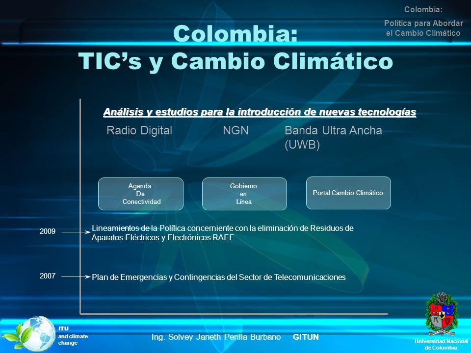 Colombia: TIC's y Cambio Climático