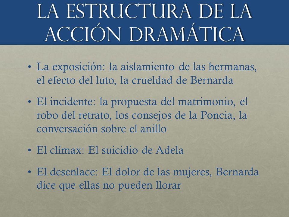 La estructura de la ACCIÓN dramÁtica
