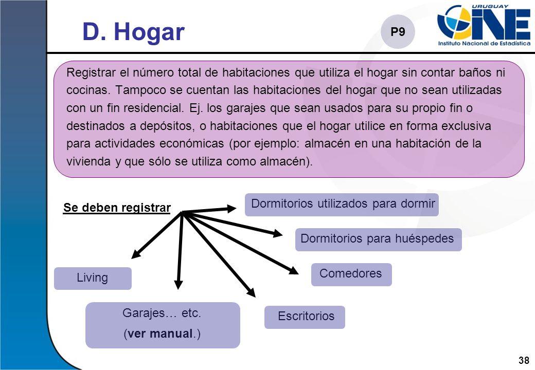 D. Hogar P9.