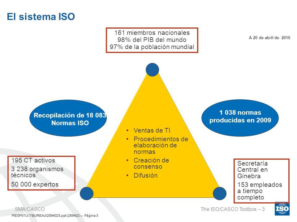 Recopilación de 18 083 Normas ISO
