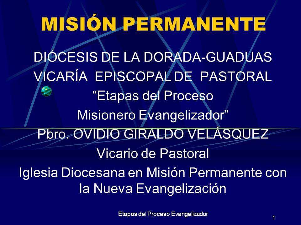 MISIÓN PERMANENTE DIÓCESIS DE LA DORADA-GUADUAS