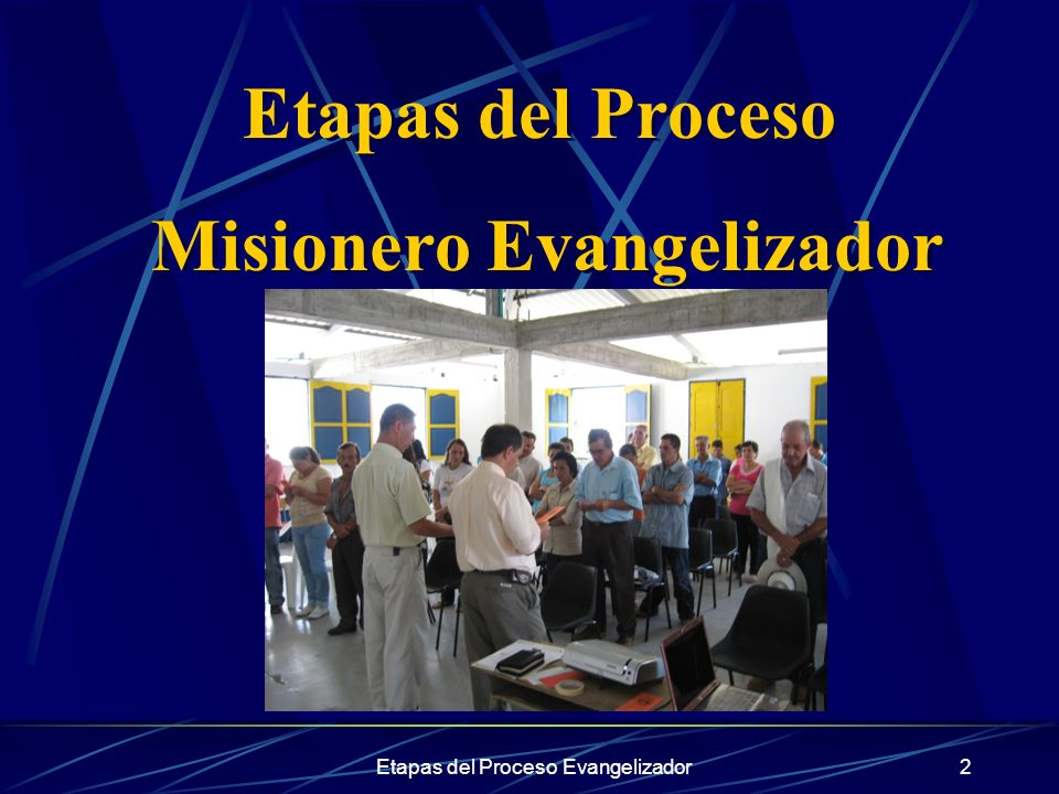 Misionero Evangelizador