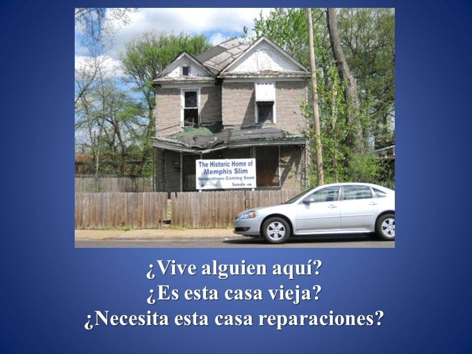 ¿Necesita esta casa reparaciones