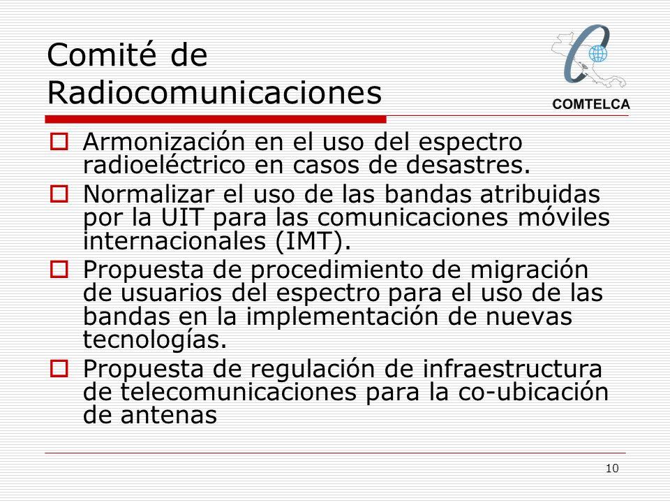 Comité de Radiocomunicaciones