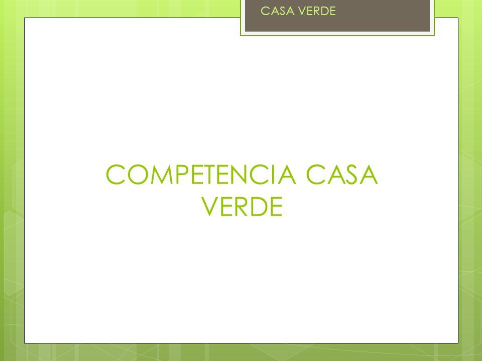 COMPETENCIA CASA VERDE