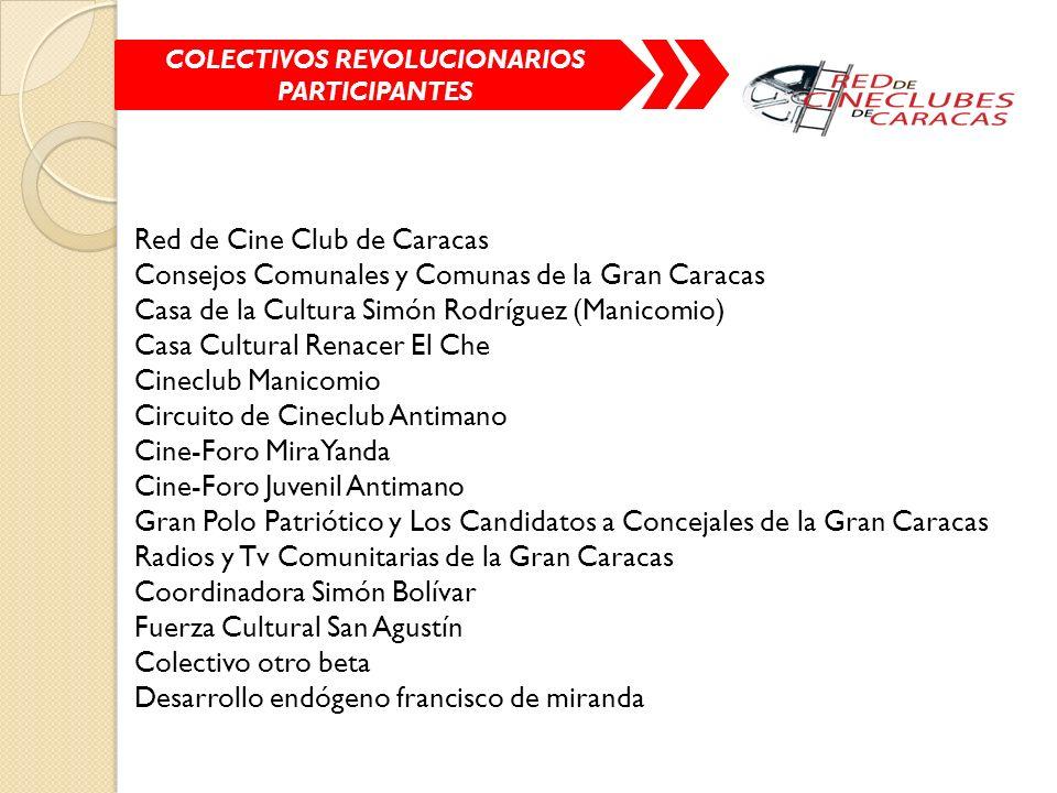 COLECTIVOS REVOLUCIONARIOS PARTICIPANTES