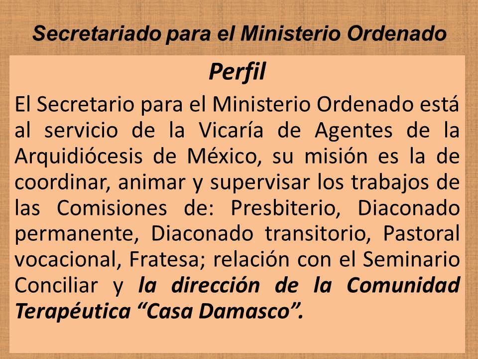 Secretariado para el Ministerio Ordenado