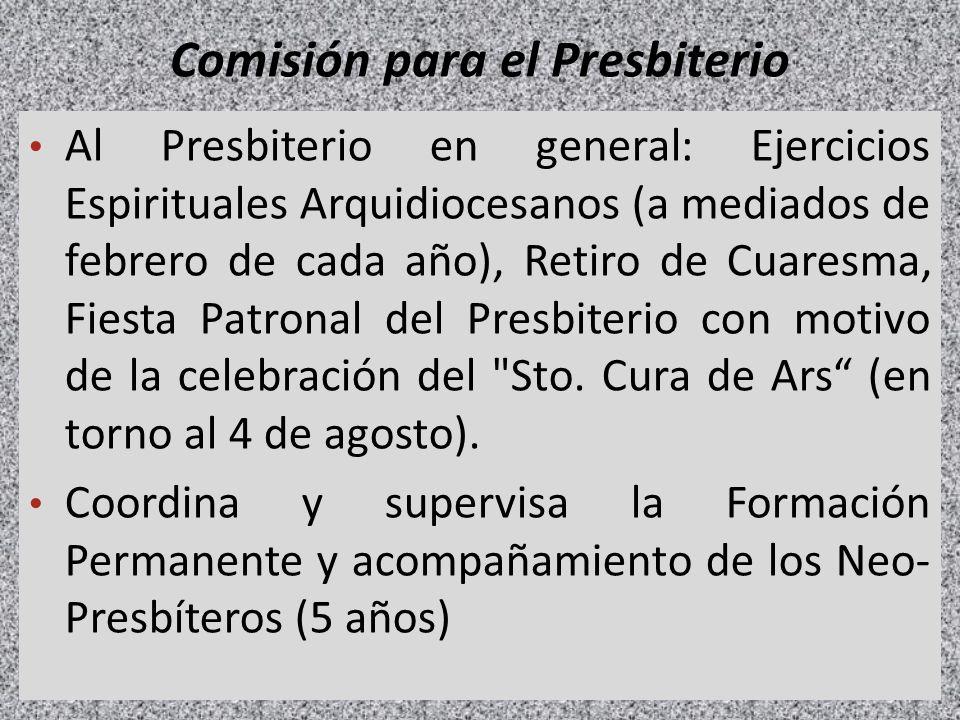 Comisión para el Presbiterio