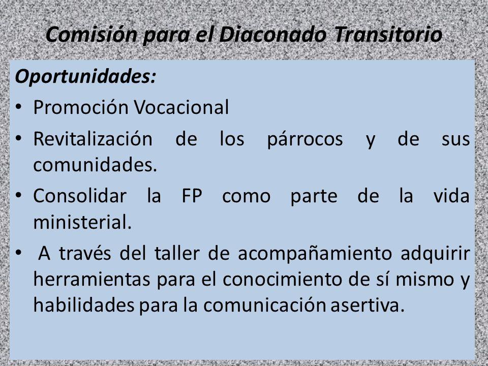 Comisión para el Diaconado Transitorio