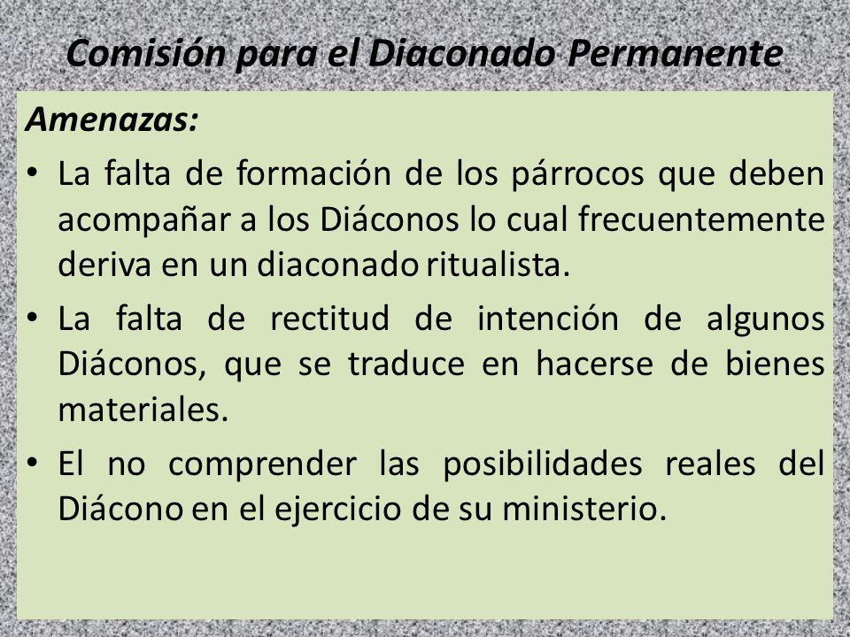 Comisión para el Diaconado Permanente