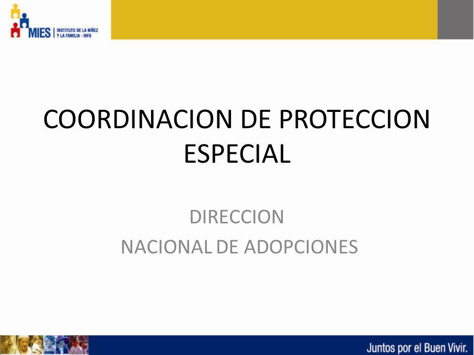 COORDINACION DE PROTECCION ESPECIAL