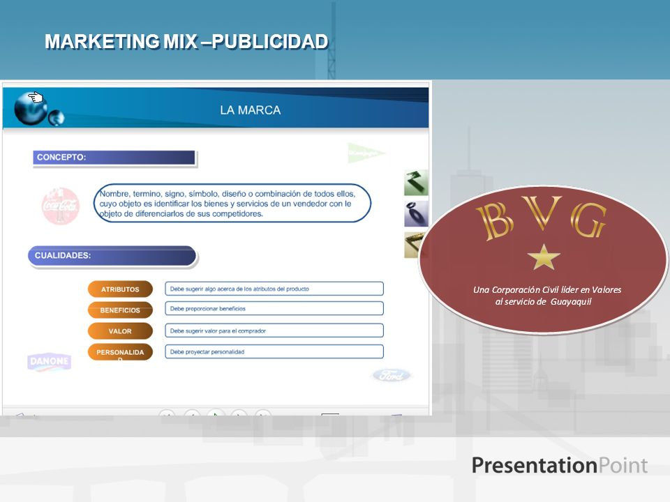 MARKETING MIX –PUBLICIDAD