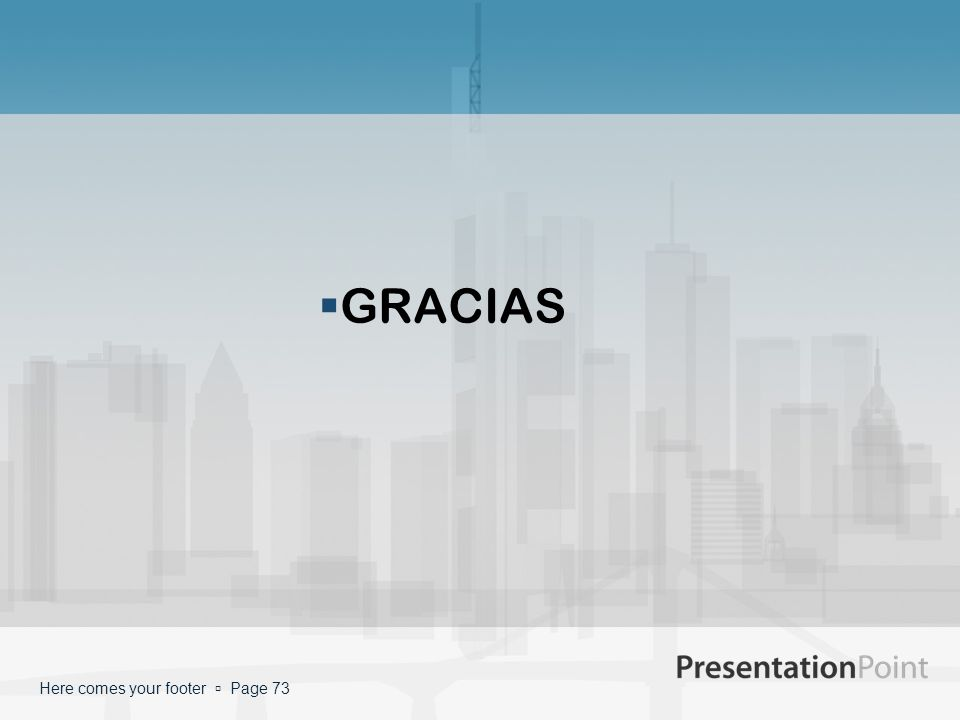 GRACIAS Here comes your footer  Page 73