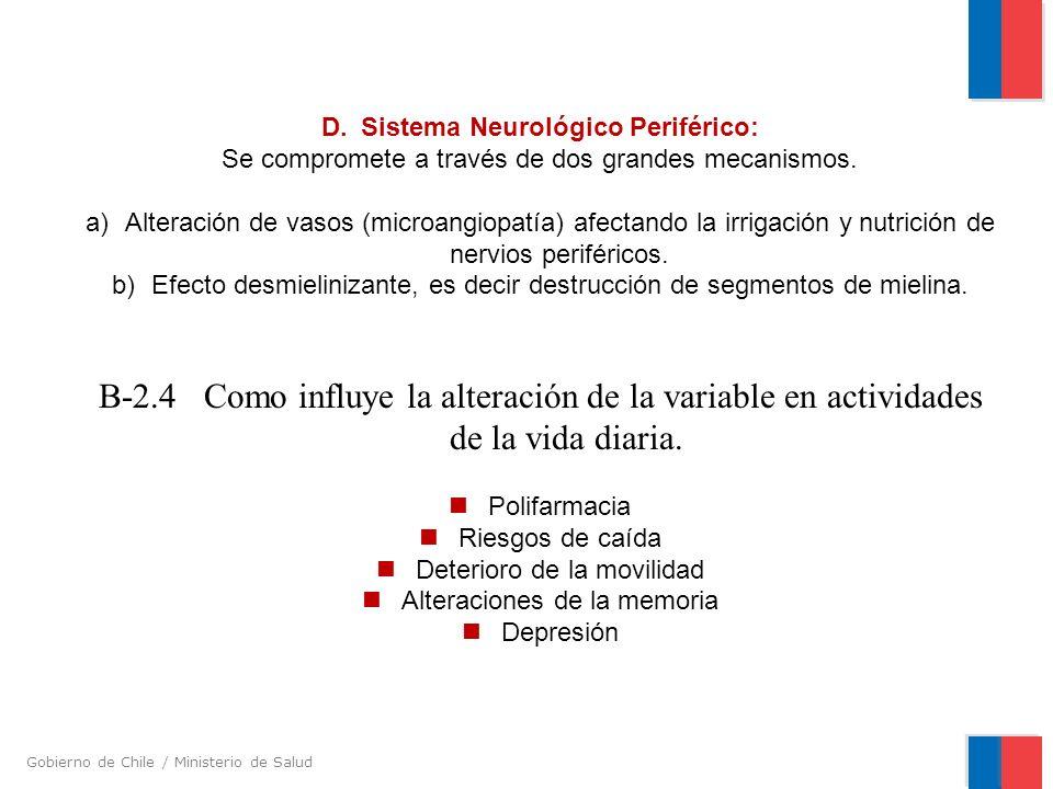 B-2.4 Como influye la alteración de la variable en actividades