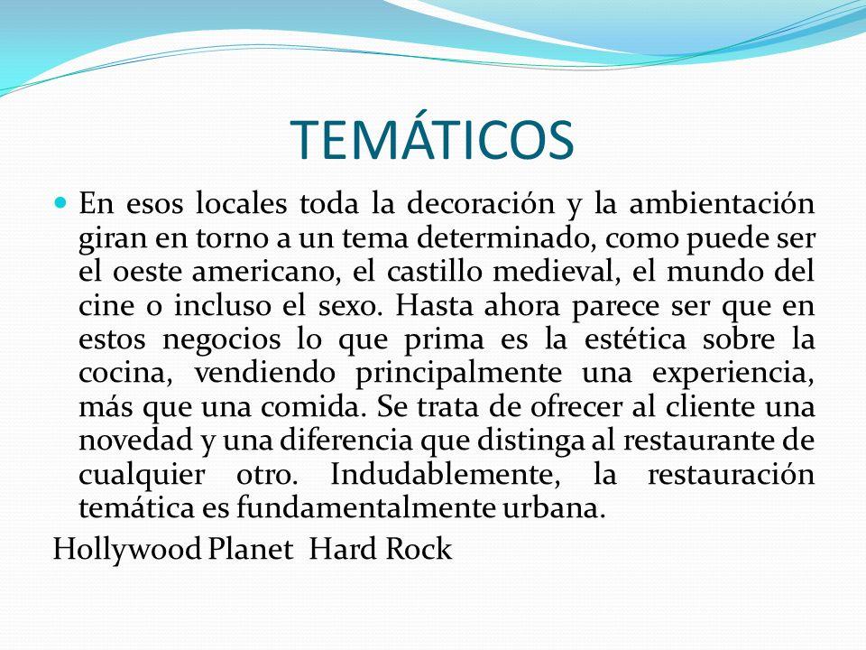 TEMÁTICOS