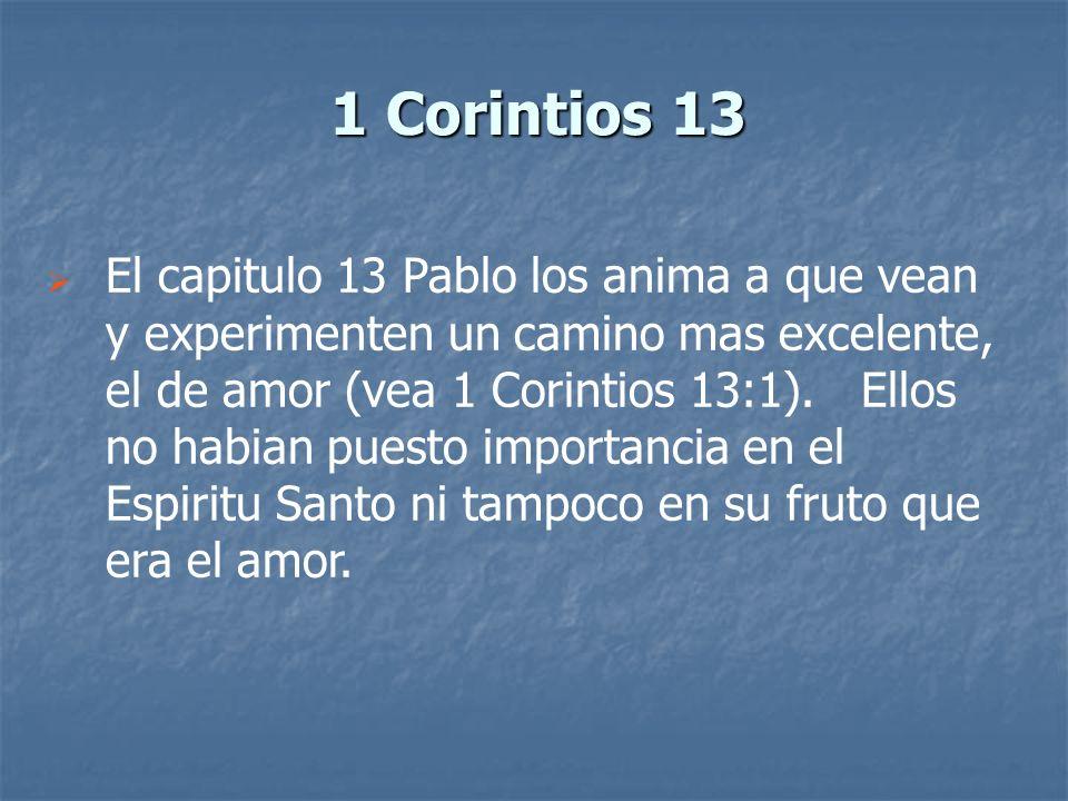 1 Corintios 13