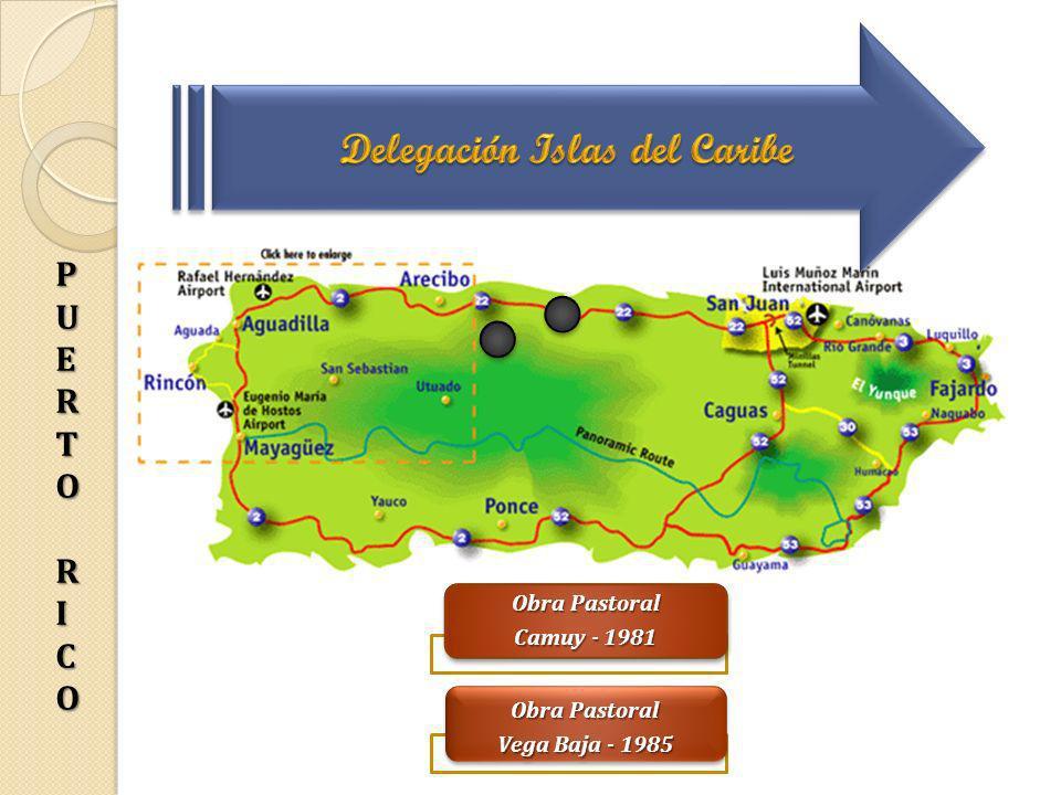 Delegación Islas del Caribe