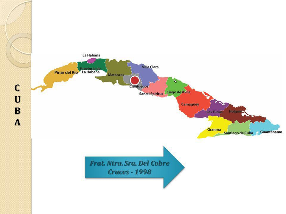 CUBA Frat. Ntra. Sra. Del Cobre Cruces - 1998