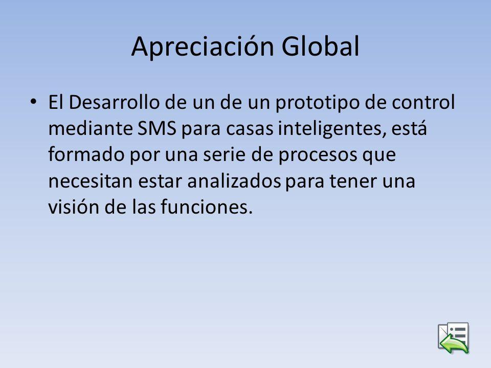 Apreciación Global