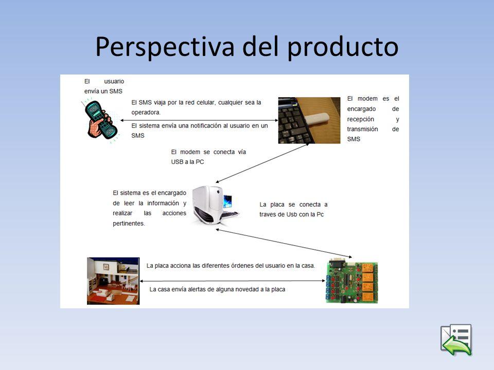 Perspectiva del producto