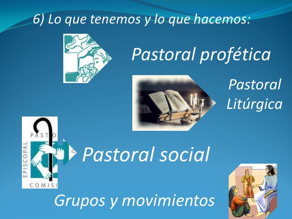 6) Lo que tenemos y lo que hacemos: