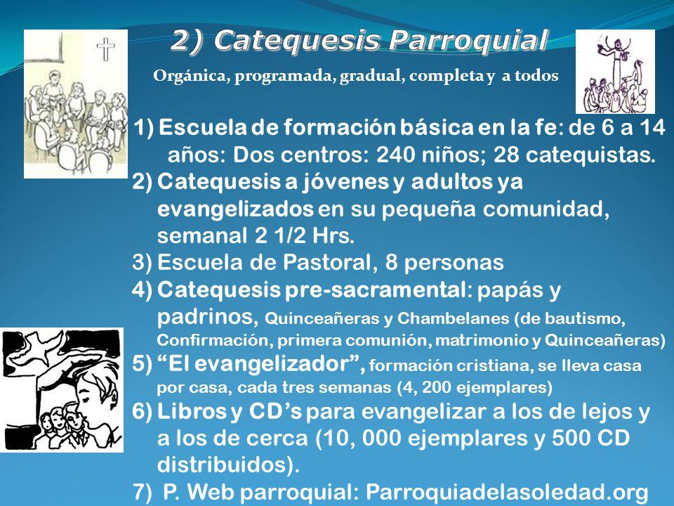 2) Catequesis Parroquial